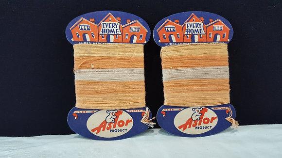 Astor product thread boards (2), Bear Wares Vintage www.bearwaresvintage.com.au Vintage advertising
