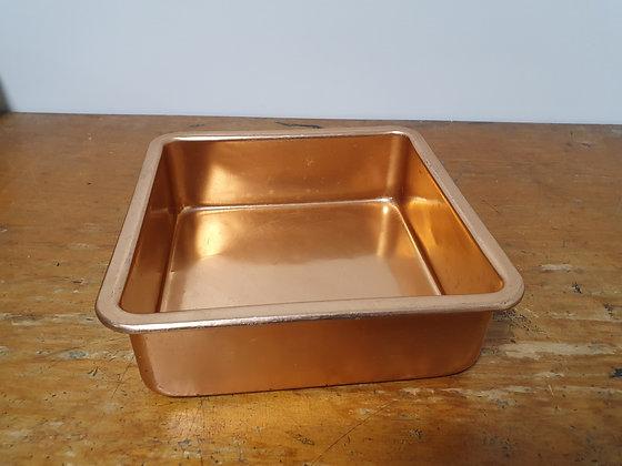 Vintage Anodised Cake Tin, Bear Wares Vintage, www.bearwaresvintage.com.au, vintage kitchen, old cookware, interiors