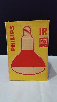 Phillips Red Heat lamb bulb box, Bear Wares Vintage www.bearwaresvintage.com.au Vintage shop advertising