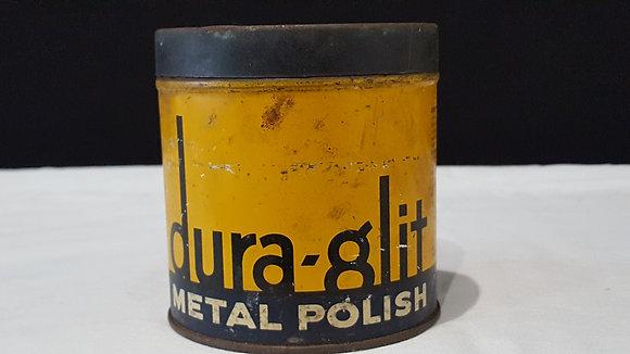 Bear Wares Vintage Dura- glit Metal Polish tin, www.bearwaresvintage.com.au Vintage shop advertising