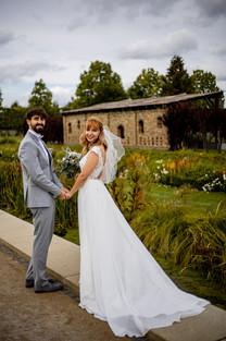 After Wedding Shooting im Schlosspark Brandenburg
