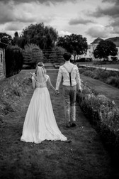 Hochzeitsshooting im Schlosspark Brandenburg