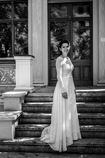 Braut am Standesamt Charlottenburg