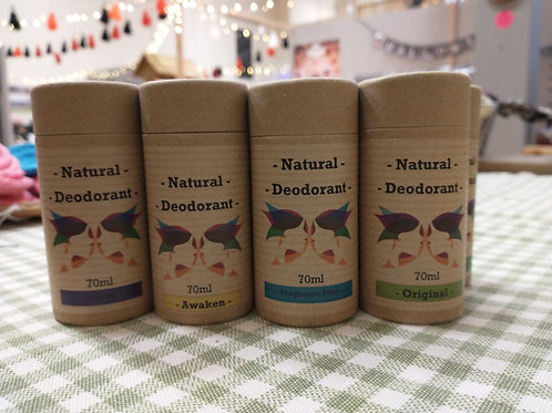 Green ladies Natural Deodorant 70ml
