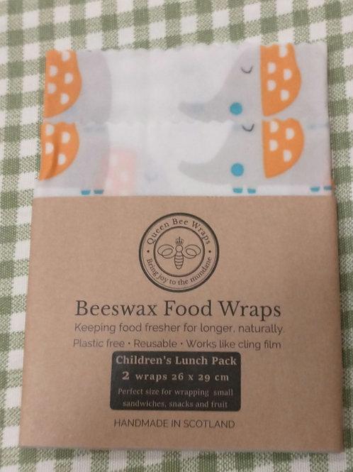 Queen bee children's lunch pack 2 pack