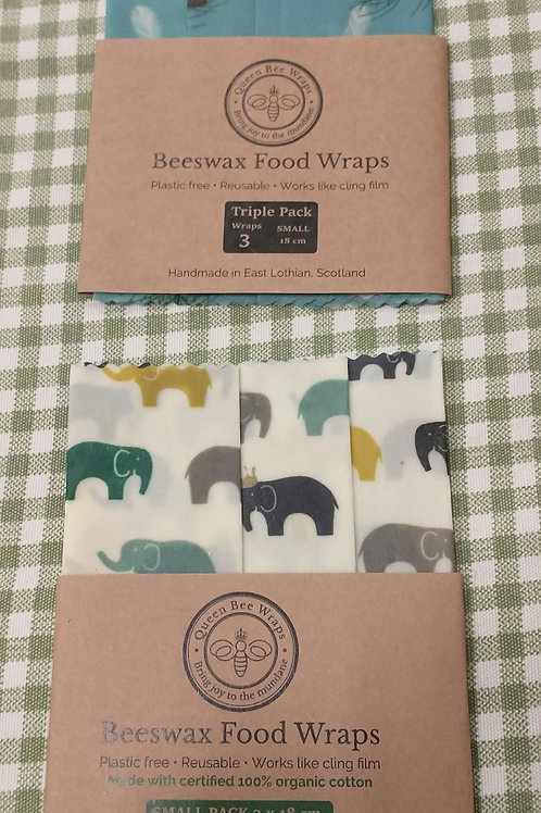 Queen bee wraps triple small pack