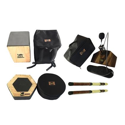 Kit Percuteria Completo + Bags de Transporte