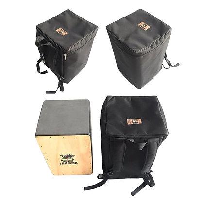 Cajón Reto Acústico + Bag Alça de Mochila