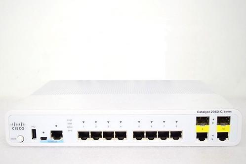 Switch Cisco WS-C2960C-8TC-L