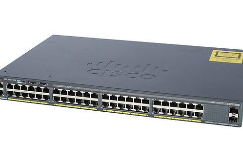 Switch Cisco WS-C2960X-48TS-BR