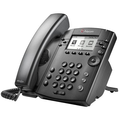 Telefonia Polycom VVX 311 Skype for Business Edition 2200-48350-019