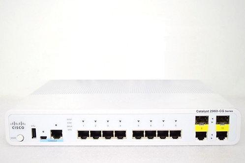 Switch Cisco WS-C2960CG-8TC-L
