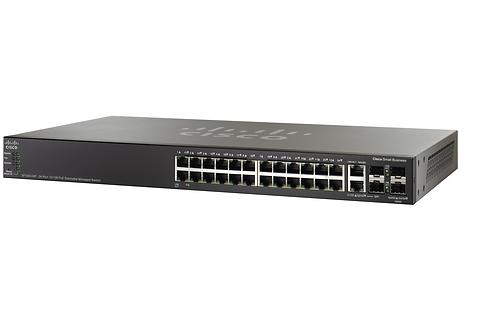 Switch Cisco SF550X-24P-K9-BR