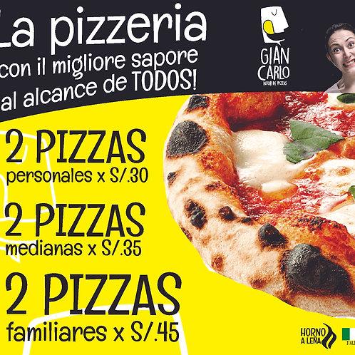 Promo Pizza 2X1!!