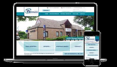 Website Kantoor Wysmans