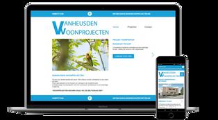 Website Vanheusden Woonprojecten