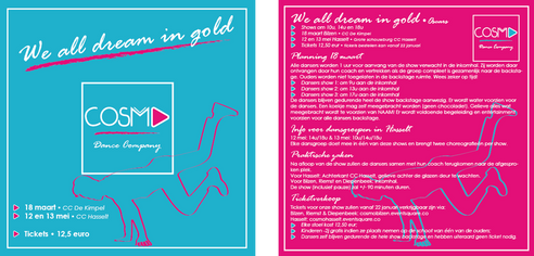 Flyer - We all dream in gold