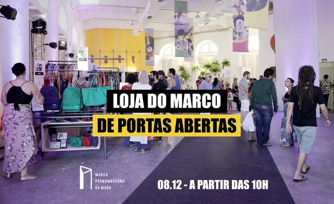 Loja do Marco Pernambucano da Moda de portas abertas!