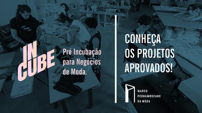 Conheça os projetos selecionados para o InCube 2018!