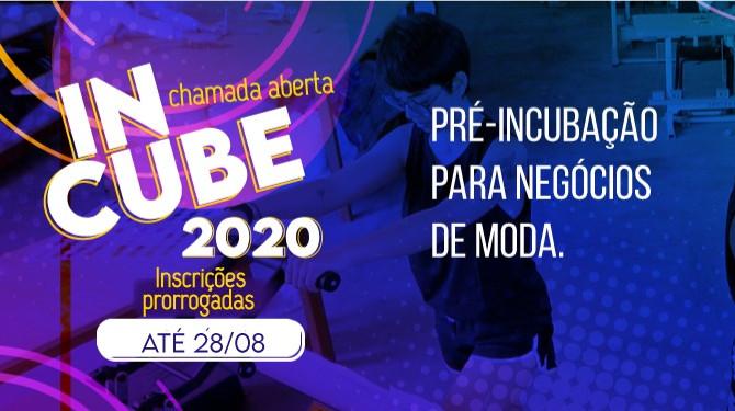 AS VAGAS PARA PROGRAMA DE PRÉ INCUBAÇÃO PARA NEGÓCIOS DE MODA FORAM PRORROGADOS ATÉ 28/08!