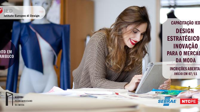 Marco da Moda recebe curso de capacitação com o Istituto Europeo di Design!