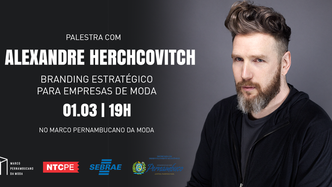 Marco da Moda recebe Alexandre Herchcovitch