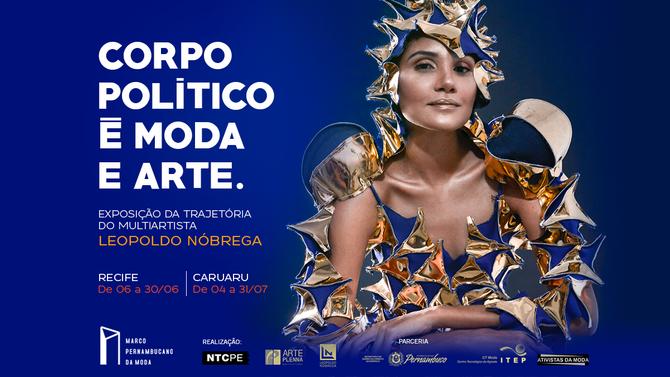 Exposição conta trajetória do multiartista Leopoldo Nóbrega