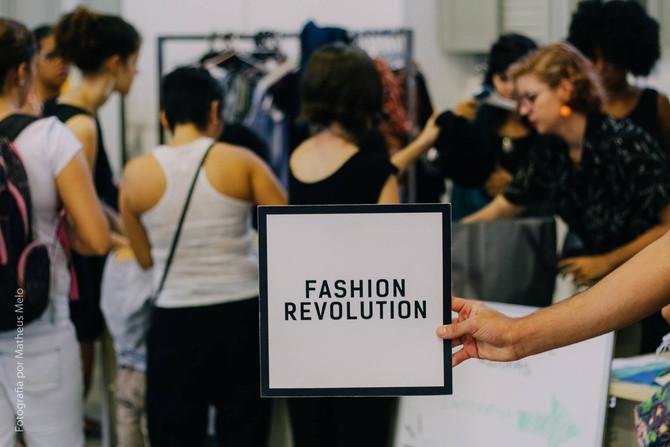 Semana do Fashion Revolution chega ao Marco da Moda.