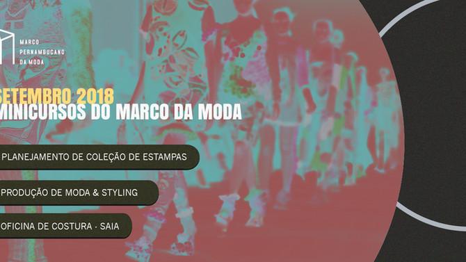 Setembro com novos minicursos do Marco da Moda!