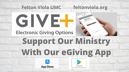 Support Our Ministry With Our eGiving Ap