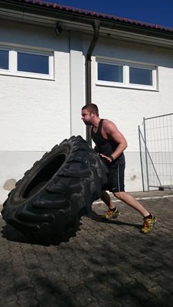 Reifen werfen 2