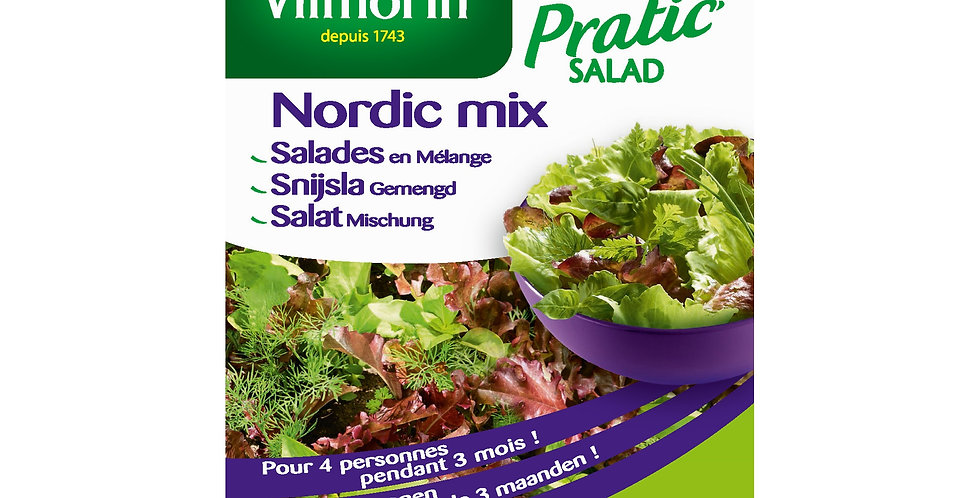 Snijsla gemengd Nordic mix (Pratic salad)