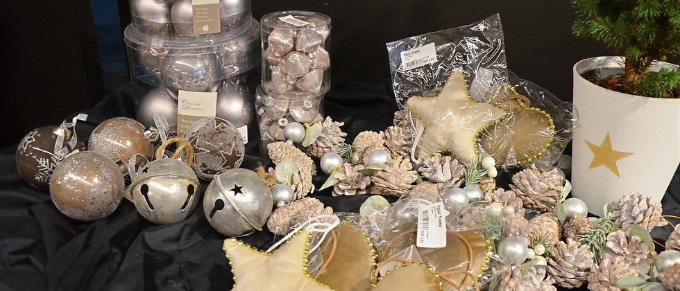 Kerstboom pakket 1 - brons