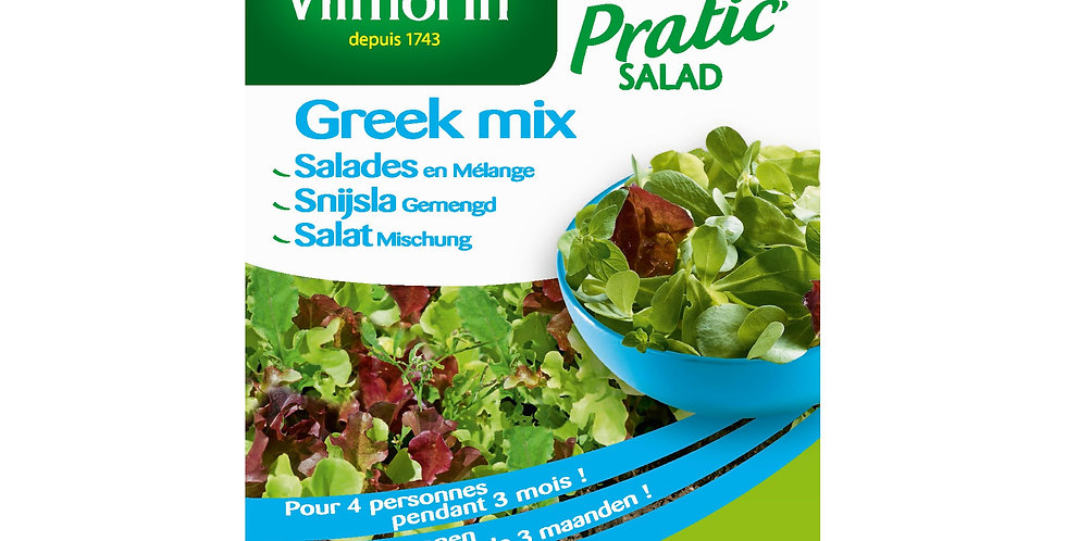 Snijsla gemengd Greek mix (Pratic salad)