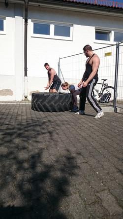 Reifen werfen3