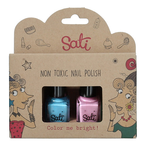 Non-Toxic Nail Polish - Mint Berry