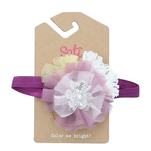 Princess (Mixed Color) Headband (size 3 to 24 months)