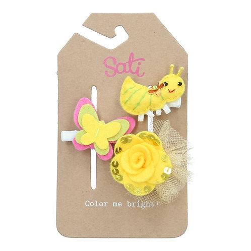 Little Yellow Ant Set Hair Clip