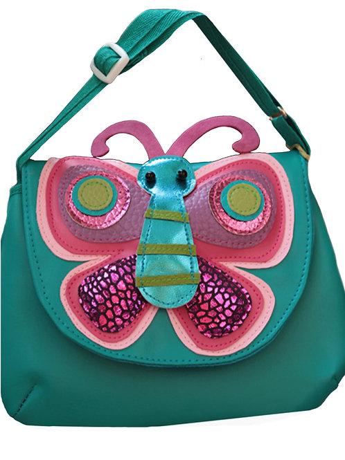 Butterfly ( Blue ) Shoulder Bag
