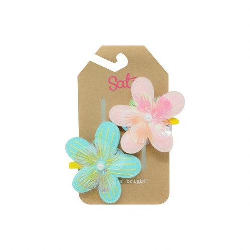 Sweet Flower Hair Clip