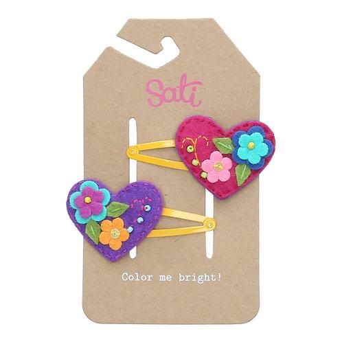 Valentine Heart Hair Clip