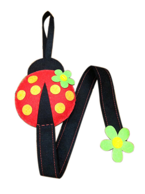 Lady Bug Hair Clip Holder