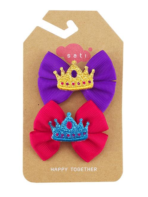 Princess Bow Hair Clip