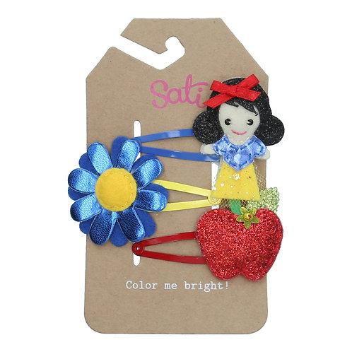 Apple Fairy Set Hair Clip