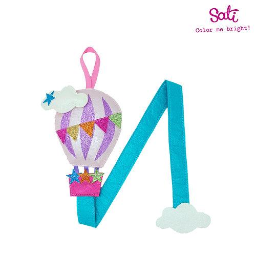 Hot-Air Balloon Hair Clip Holder