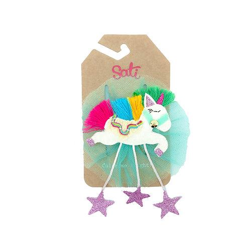 Starlight Unicorn Hair Clip
