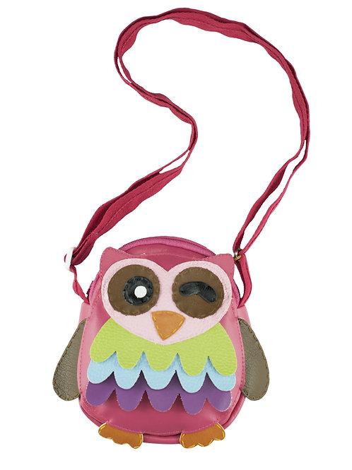 Little Owl ( Pink ) Shoulder Bag