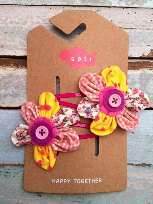 Farm Flower Hair Clip
