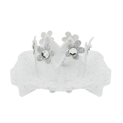 Princess Crown (Silver) Hair Clip