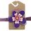 Thumbnail: Celebrate Violet Flower Headband (size 3 to 24 months)